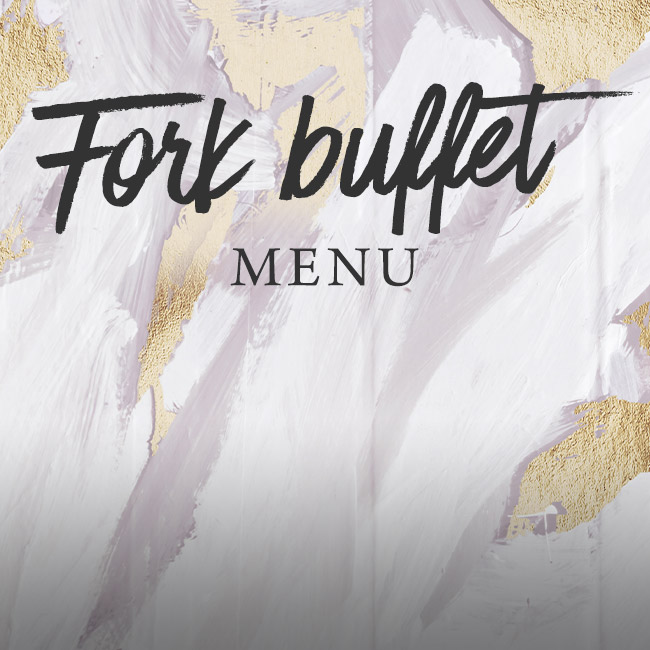 Fork buffet menu at The Minnow