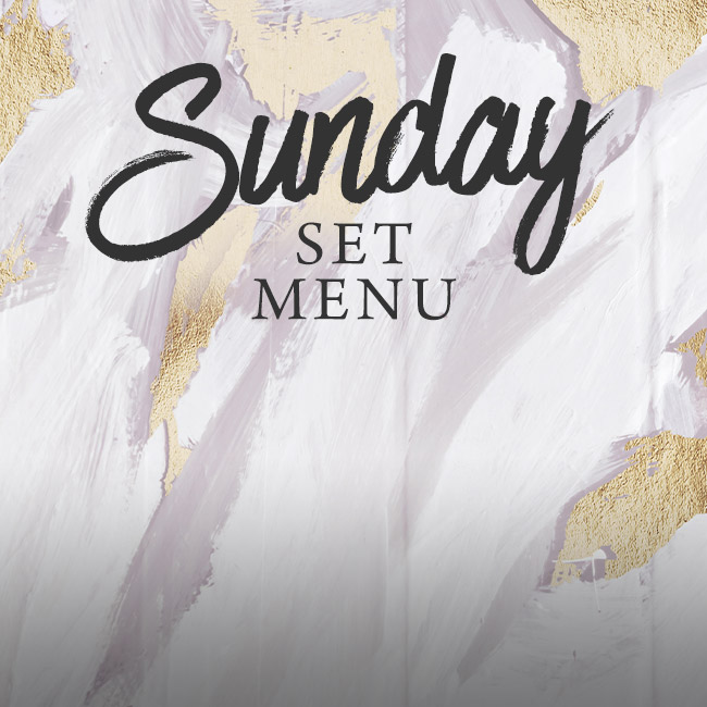 Sunday set menu at The Minnow