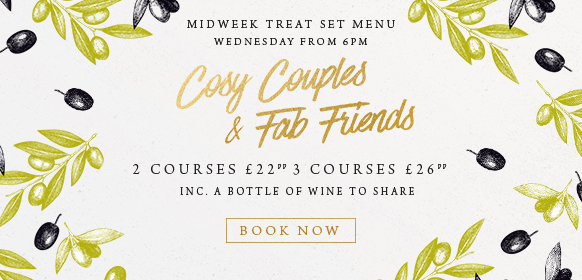 Midweek treat set menu at The Minnow